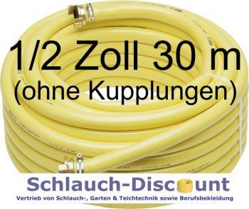 1 2 zoll 30 m wasserschlauch gartenschlauch gelb trikot schlauch discount. Black Bedroom Furniture Sets. Home Design Ideas